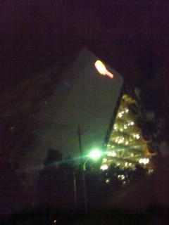バンナム新社屋夜景